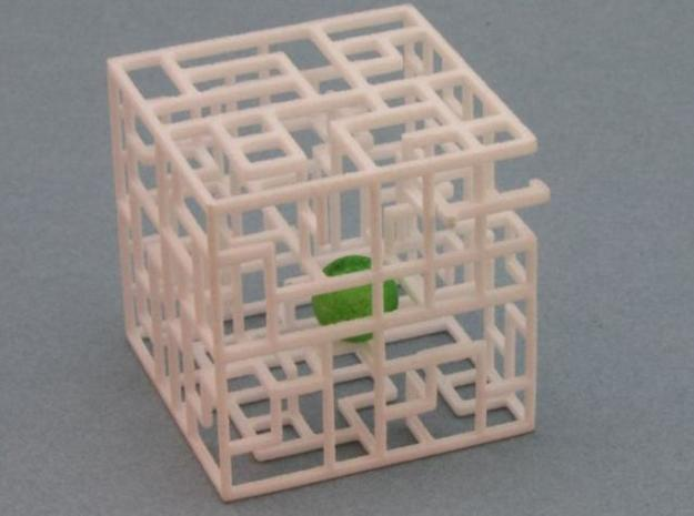 Maze Mix-pack 2 - 666,777 3d printed Ball in Maze