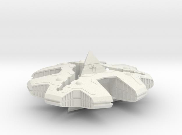 SG - Hat'ak Motherships 1 in White Natural Versatile Plastic