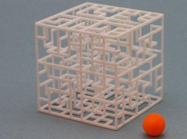 Escher's Playground 2-pack 777 3d printed 2 Mazes and Balls