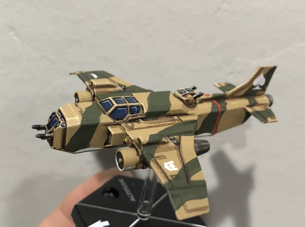 6mm Havoc Attack Aircraft in Smooth Fine Detail Plastic