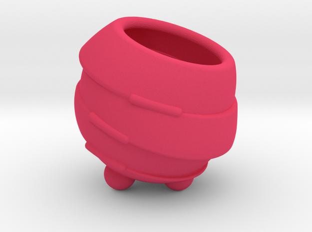 Vaze - mini vase in Pink Processed Versatile Plastic