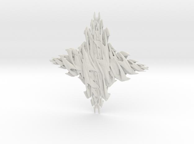 Strawy-W in White Natural Versatile Plastic