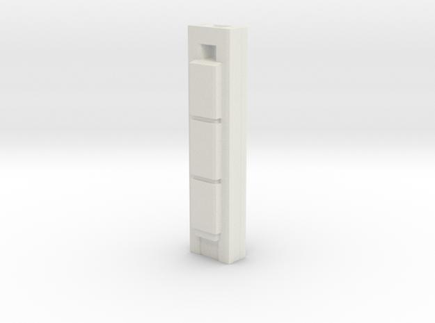 Torre Cepsa - Madrid (1:4000) in White Natural Versatile Plastic
