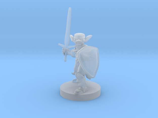 Goblin Paladin in Smooth Fine Detail Plastic