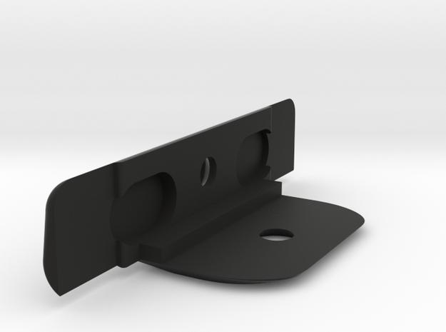 B64 Front Bumper in Black Natural Versatile Plastic