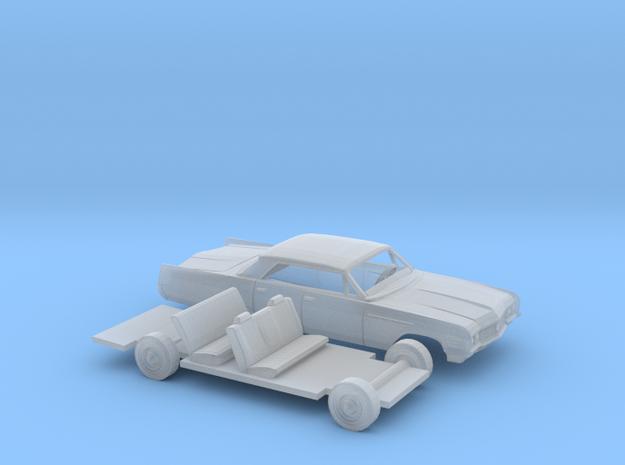 1/87 1964 Buick Electra Pillar Less Sedan Kit in Smooth Fine Detail Plastic
