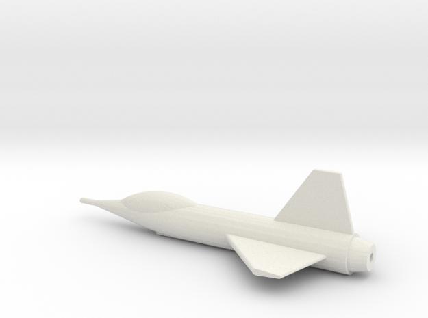 Parasite Fighter 144:1 Scale in White Natural Versatile Plastic
