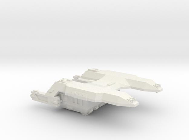 3788 Scale Lyran Cougar Battle Tug CVN in White Natural Versatile Plastic
