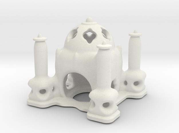 The Temple of Iguanian Water-Gods in White Natural Versatile Plastic