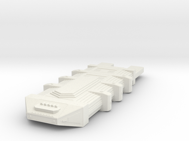 Omni Scale Seltorian Hive Ship (Small) MGL in White Natural Versatile Plastic