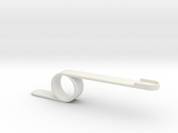 Launch in White Natural Versatile Plastic