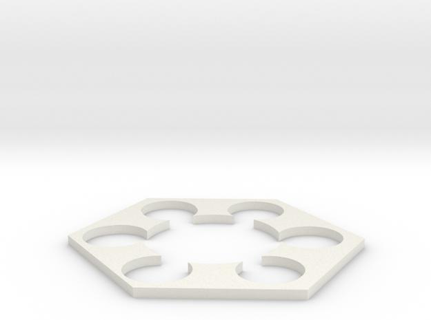 BT60-bt20 pod guide (1) in White Natural Versatile Plastic