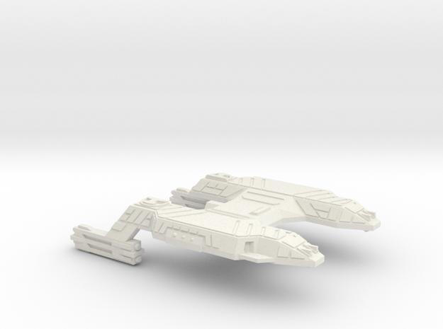 3125 Scale Lyran Siberian Tiger Carrier CVN in White Natural Versatile Plastic
