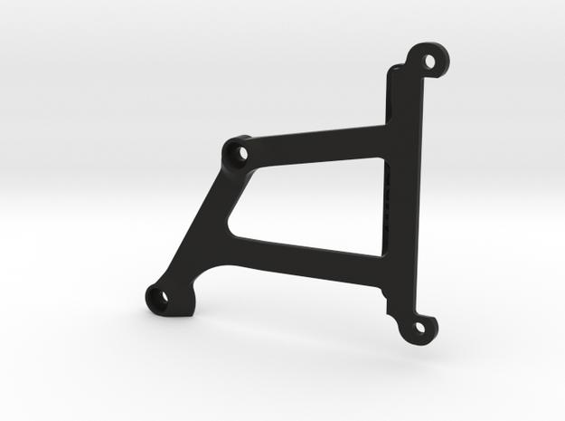 106002-01 BlitzerLower Chassis Brace in Black Natural Versatile Plastic