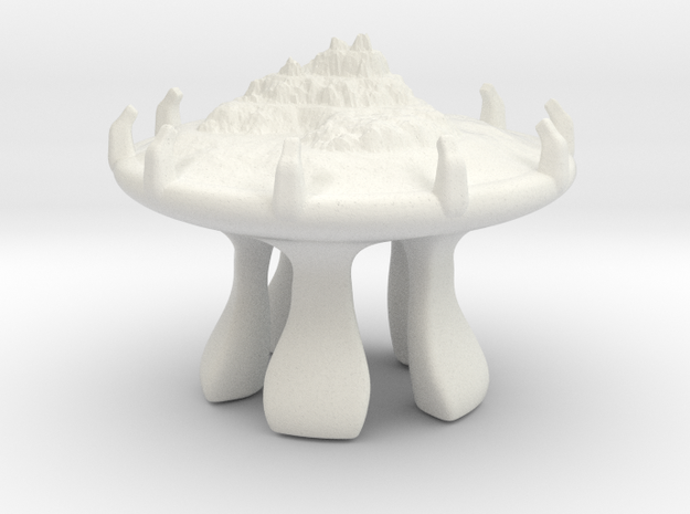 The Creationists biodome (1) in White Natural Versatile Plastic