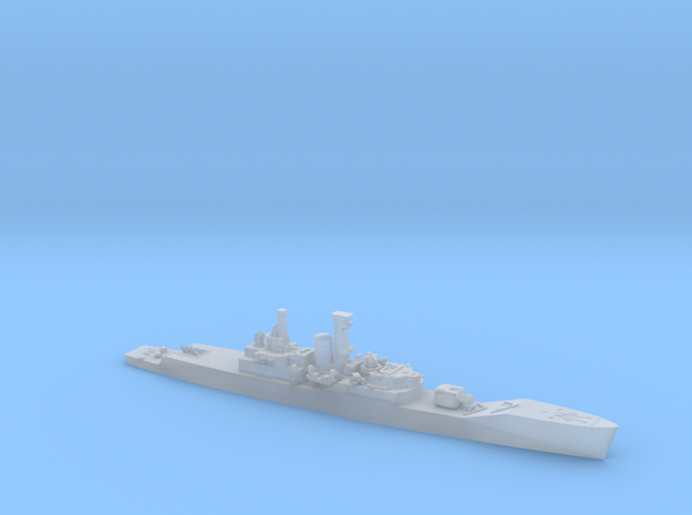 1/1800 HMS Plymouth in Frosted Ultra Detail