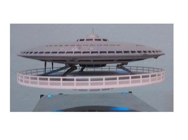Advancded Auto Saucer - 1 Asmb in White Natural Versatile Plastic