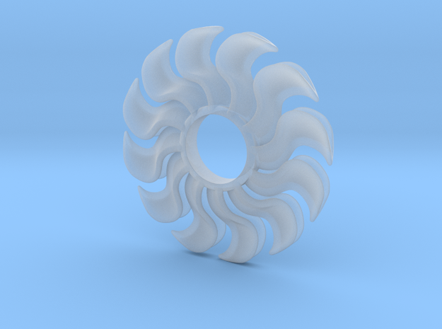 Fidget Turbofan in Smooth Fine Detail Plastic