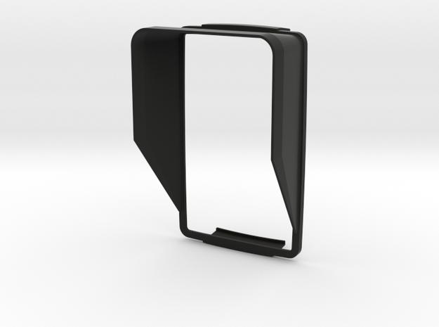 Sunshade (Clip-On) for BMW Navigator 6, Portrait in Black Natural Versatile Plastic