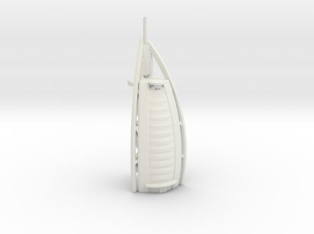 Burj Al Arab - Dubai (1:4000) in White Natural Versatile Plastic