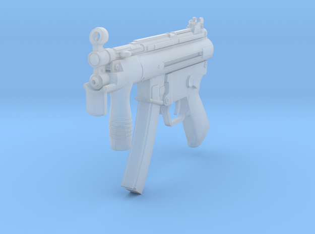 1/16th MP5K in Smooth Fine Detail Plastic