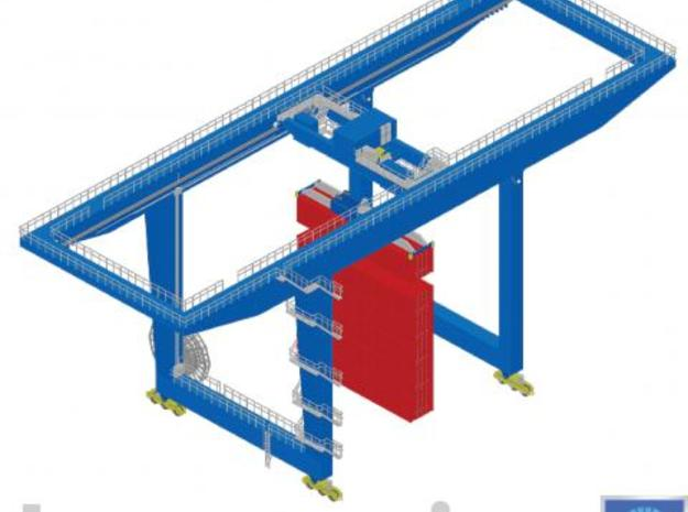 Gantry crane 3d printed