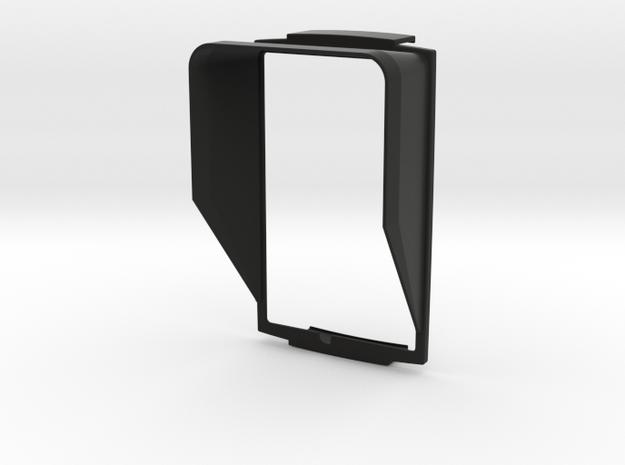 Sunshade (Clip-On) for BMW Navigator 5, Portrait in Black Natural Versatile Plastic