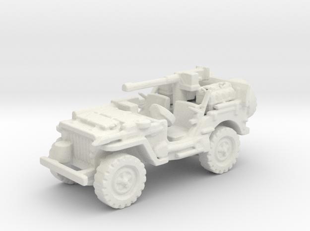 1/72 jeep SAS LRDG  2 in White Natural Versatile Plastic