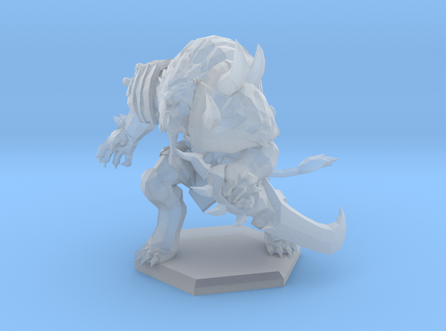 Tabaxi Hunter in Smooth Fine Detail Plastic