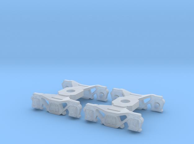 2PK N Scale K4 Tender Truck for Minitrix W/KD Etch