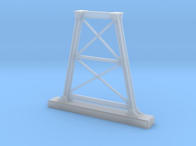HO NSWGR Steel Bridge Trestle in Smooth Fine Detail Plastic
