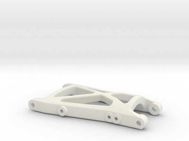losi xx cr rear right suspension arm in White Natural Versatile Plastic