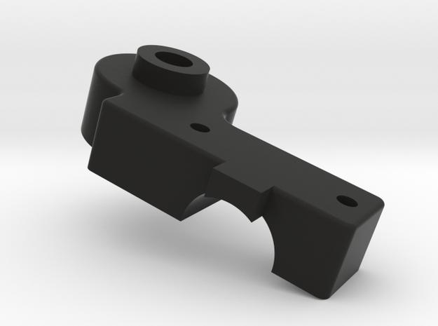 Tamiya RC (Part J-2) Right Upper Shock Mount for V in Black Natural Versatile Plastic
