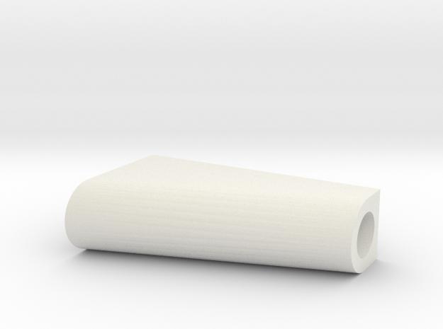 LEGO RUDDER BLOC in White Natural Versatile Plastic