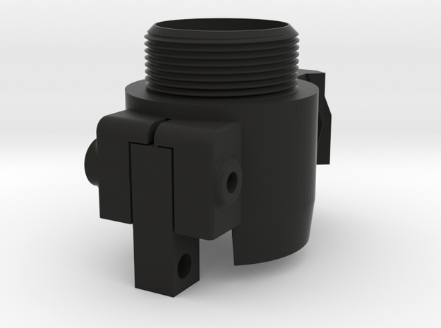 AR Handguard Adapter for Tippmann TMC in Black Natural Versatile Plastic