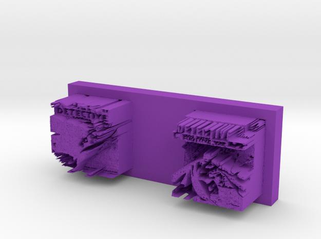nosevalleybottom meat tenderizer in Purple Processed Versatile Plastic