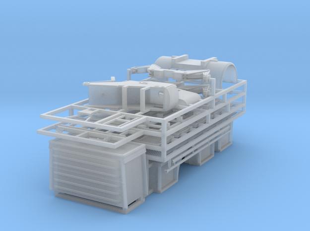 Aufbau für eine DL30.01 auf IFA W50 in Smooth Fine Detail Plastic