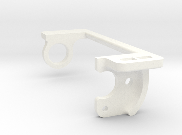 soporte motor 1_24 offset -1.5 in White Processed Versatile Plastic