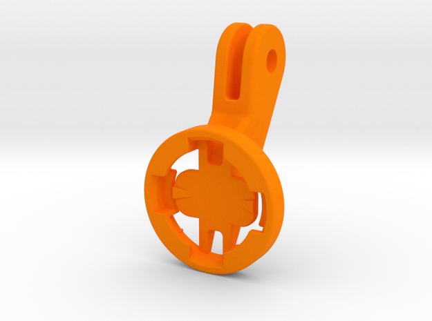 FLY6ce GoPro Adapter in Orange Strong & Flexible Polished: Large