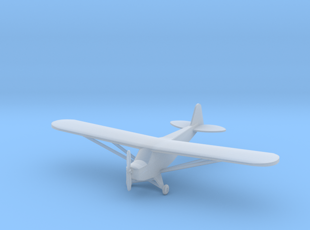 Piper J3 Cub - Zscale in Smooth Fine Detail Plastic