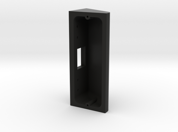 Ring Doorbell Pro 90 Degree Wedge in Black Natural Versatile Plastic