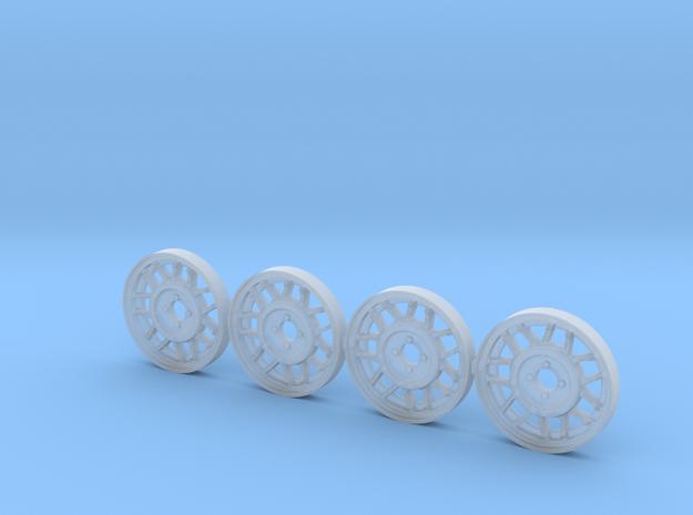 4 tapacubos snowflake 18.1mm diametro