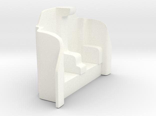 Futurliner Bulkhead front in White Processed Versatile Plastic