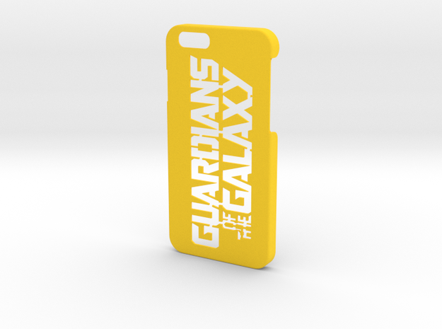Guardians of the Galaxy Phone Case-iPhone 6/6s in Yellow Processed Versatile Plastic