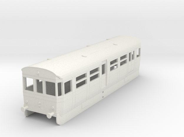 0-76-but-aec-railcar-driver-brake-coach in White Strong & Flexible