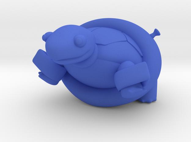 Skittles in Blue Processed Versatile Plastic