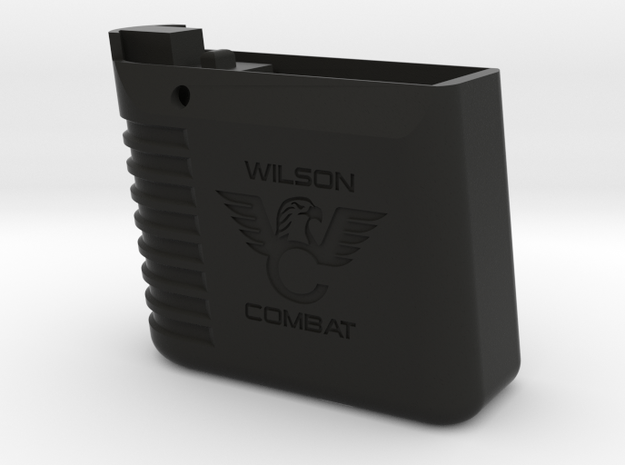 [Airsoft] KJW Slim CO2 Mag Extension in Black Natural Versatile Plastic