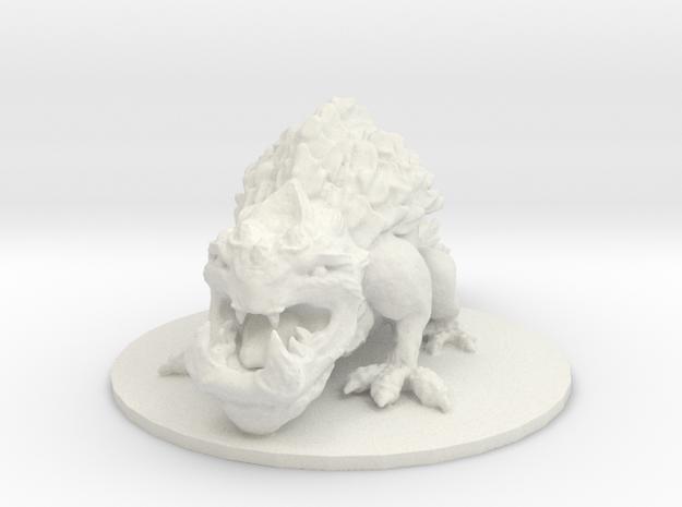 Tetsucabra (Large Amphibian) in White Natural Versatile Plastic