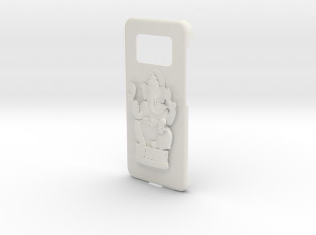 Ganesh Samsung Cover in White Natural Versatile Plastic