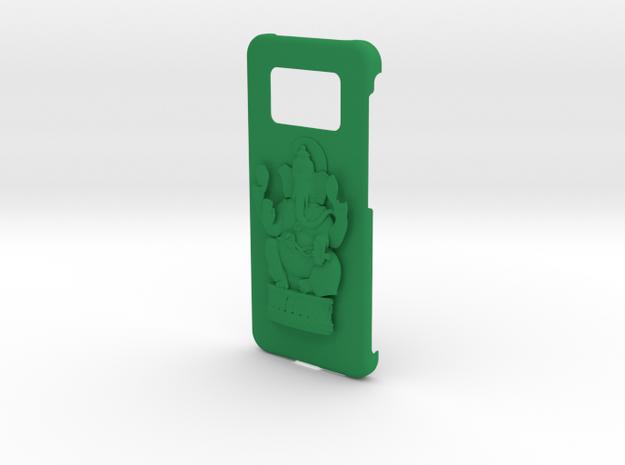 Ganesh Samsung Cover in Green Processed Versatile Plastic